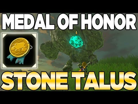 POST GAME: The Medal of Honor - Stone Talus in Breath of the Wild | Austin John Plays