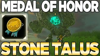 POST GAME: The Medal of Honor - Stone Talus in Breath of the Wild   Austin John Plays