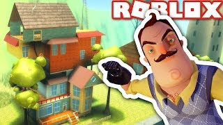 HELLO NEIGHBOR in ROBLOX! (Gioco di puzzle)