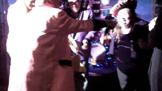 """Rue & The Rockets performing """"Sticky Vicky"""" at 19th Hole, Southerness (October 2011) - End of Season Party."""