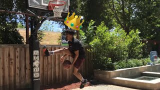 i am the king of backyard layups
