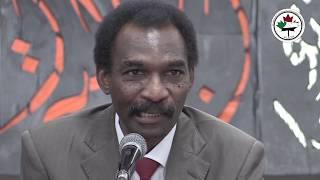 الجزء الاول من ندوة الاستاذ صلاح شعيب عن  تحديات المرحلة الانتقالية في السودان