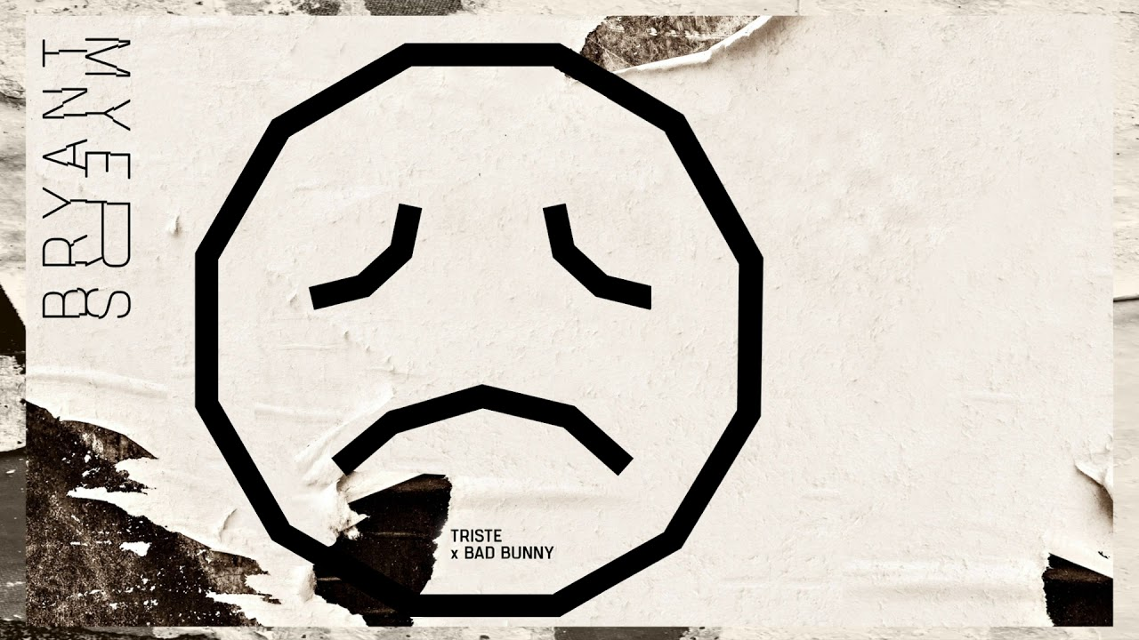 Bryant Myers, Bad Bunny - Triste (Audio)