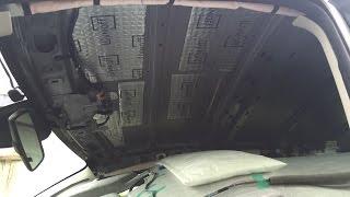 Шумоизоляция автомобиля своими руками Mazda cx 5 крыша,потолок(, 2015-05-24T12:53:58.000Z)