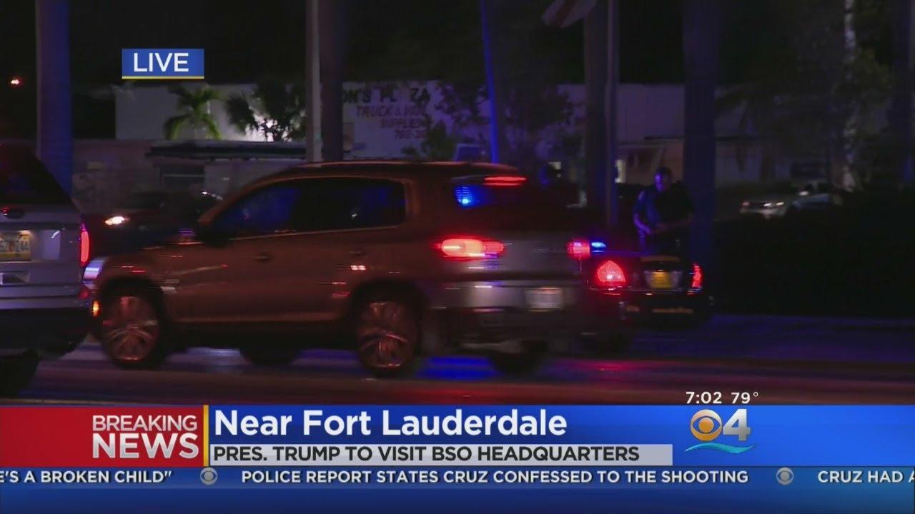 President Trump To Meet With Broward Sheriff Scott Israel