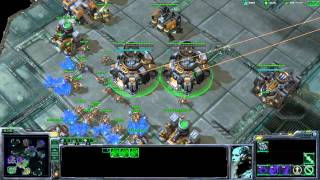 StarCraft 2: Wings of Liberty - 3v3 - Online Match 16