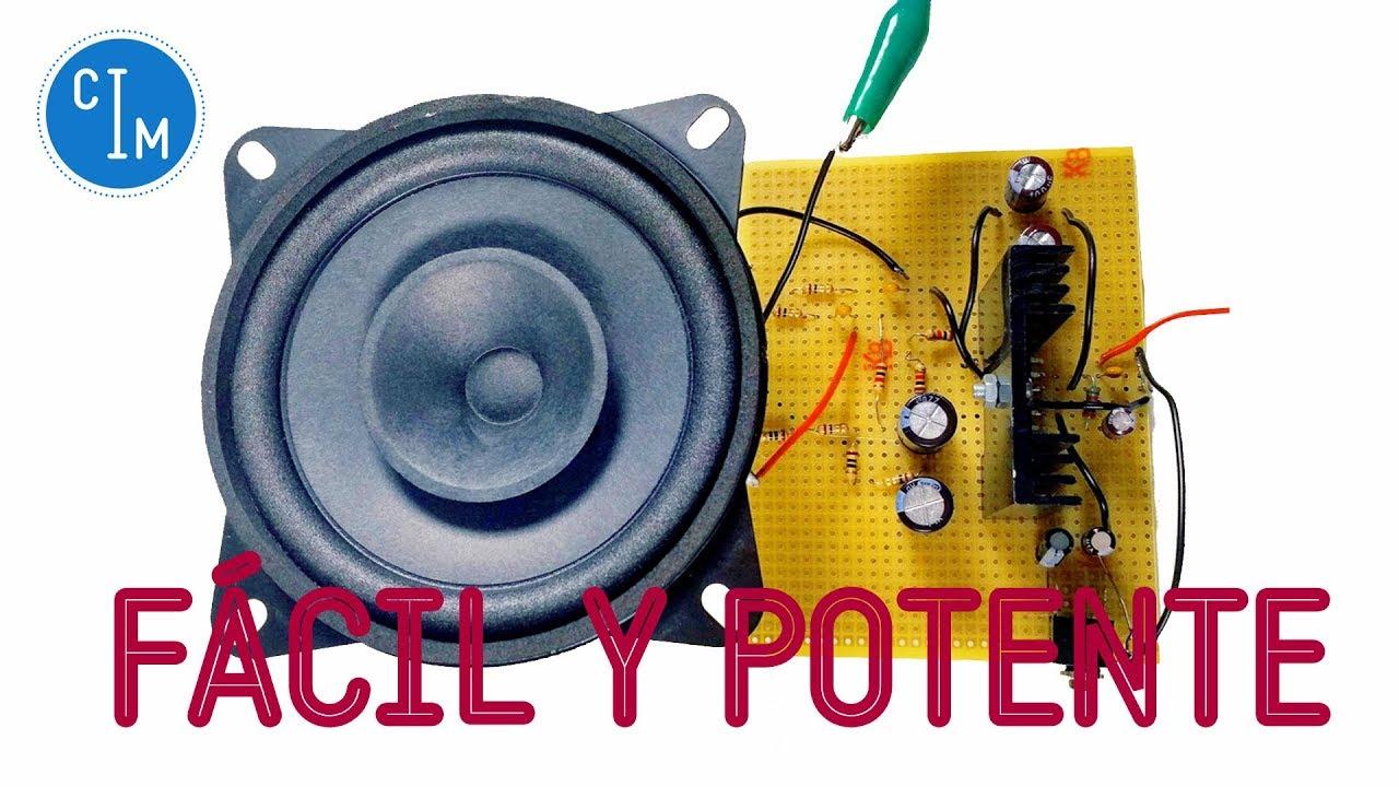 Circuito De Amplificador De Audio De 1000w Pdf : Amplificador de sonido fÁcil y potente cómo hacer youtube