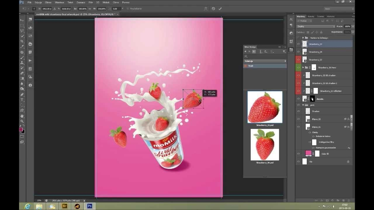 Create a commercial print advertisement using 3d splashes for Make 3d design online