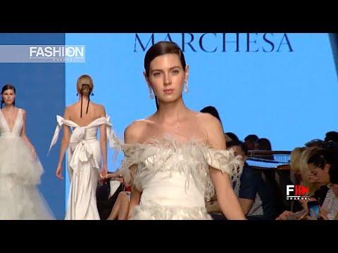 MARCHESA BRIDAL 4th Arab Fashion Week Ready Couture & Resort 2018 - Fashion Channel