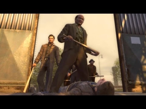 The Wild Ones: Vito, Joe and Steve Deal with the Greasers Gang (Mafia 2)