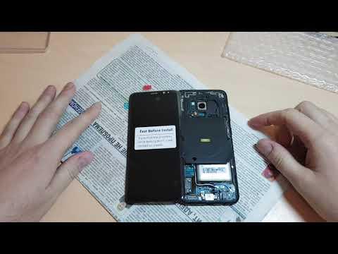 Оригинал Дисплейный модуль Екран для Samsung S8 из Aliexpress. Распаковка и Проверка Original LCD