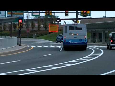 Port Authority of New York & New Jersey Shuttle Bus Orion VII #4998 @ Newark Airport in HD