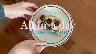 [All in-a day vlog] 강릉 신혼집에서 먹…