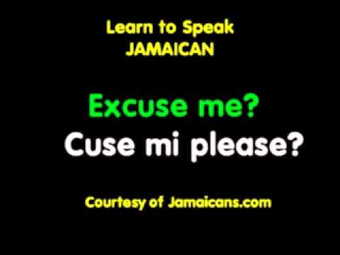 Conversation: Gratitude and Apologies - Learn to Speak Jamaican Patois