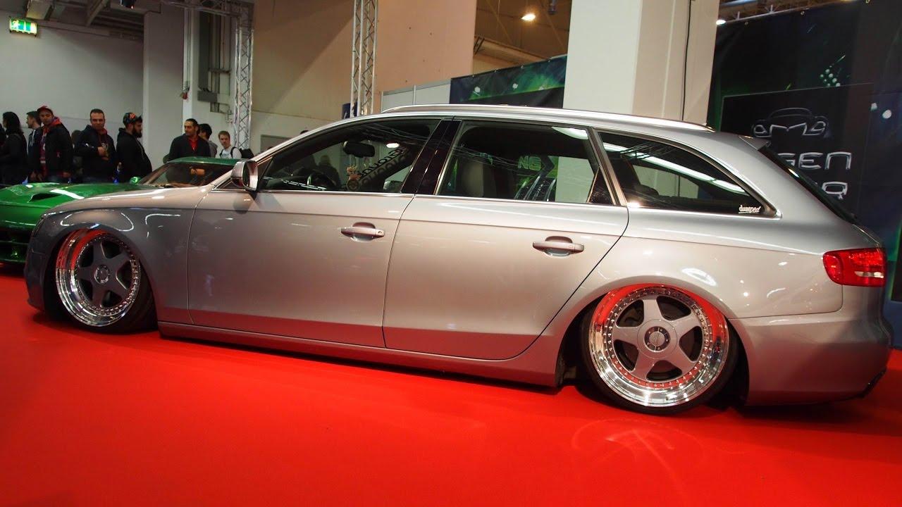 Audi A4 2.0 T >> Audi A4 Avant (8k5) 2009 2.0 TDI 140 ps OZ Futura 9.5j x 20 Tuning - Exterior Walkaround - YouTube
