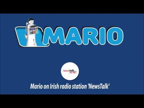 Mario on Irish radio station 'News Talk'