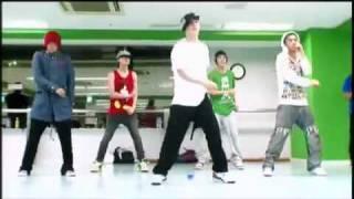 Big Bang-Top of the world dance practice