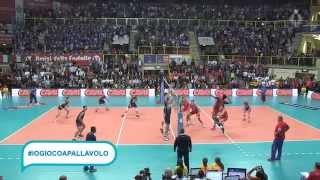 Italia-Russia 3-0: il punto finale di Zaytsev - Eurovolley