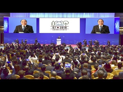 Bài phát biểu về biển Đông của TT Nguyễn Xuân Phúc tại G7 khiến Cả thế giới vỗ tay