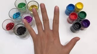 Learn Colors with Body Paint & Finger Family Songs Collection | The Surprise For Kids