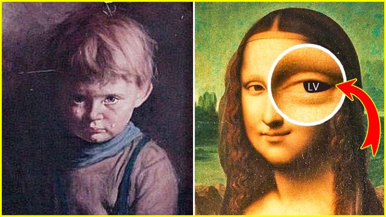 أسرار غريبة تسكن 5 لوحات فنية شهيرة ● بعضها ملعونة !