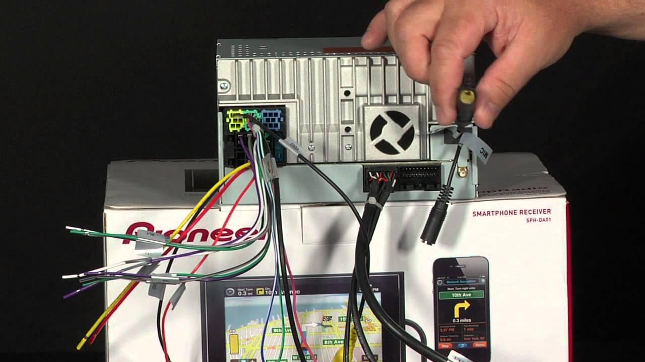 pioneer appradio wiring diagram [ 1280 x 720 Pixel ]