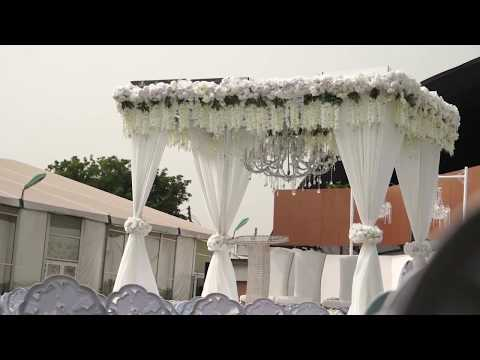 Wedding & Reception Decor at Unique Floral Events Centre, Trade Fair