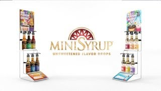 MiniSyrup Unsweetened Flavor Drops - NACS 2013 - Increase Variety, Increase Sales!