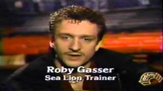 Roby Gasser and his Sea Lions