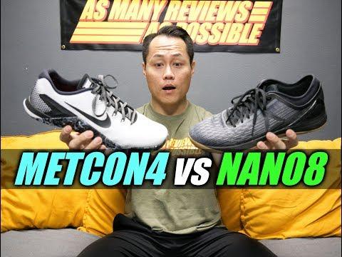 METCON 4 or NANO 8?! - YouTube