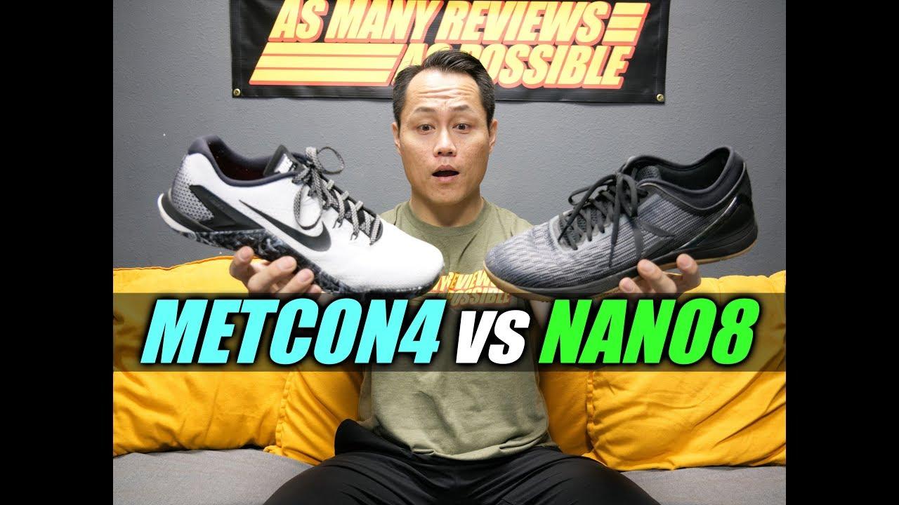 371d3d08079 METCON 4 or NANO 8 ! - YouTube