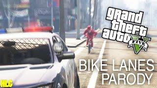 Casey Neistat - Bike Lanes GTA V Parody