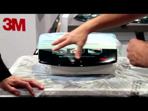 3M's Paint Defender with Karl Champley at SEMA