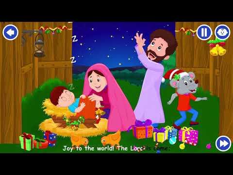 Joy to the world lyrics | kids Christmas songs lyrics | xmas kids song