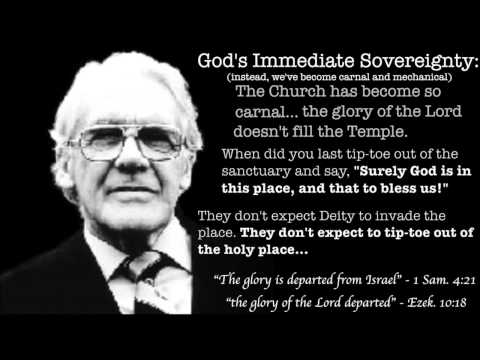 """The Church"" - The Arena of God's Immediate Sovereignty, by Leonard Ravenhill"