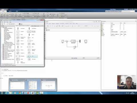 Control Design Via State-space: MatLab/Simulink Example