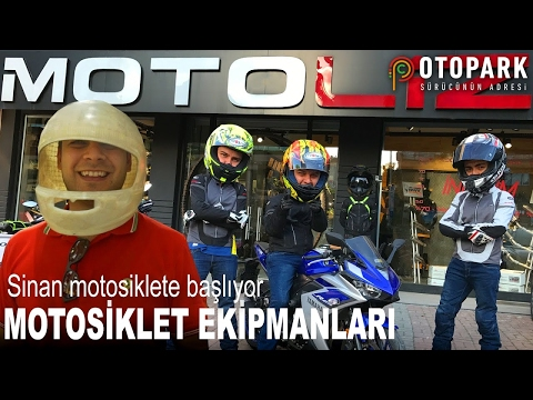 Sinan'la Motosiklete Başlamak   Motosiklet Ekipmanı Nasıl Seçilir   Bölüm 1