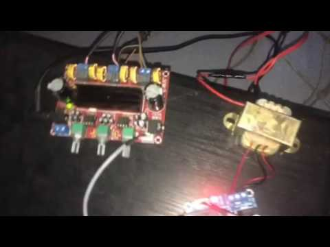 test mạch khuyếch đại micro karaoke MH-173
