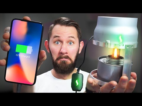 FIRE-Powered Phone! | 10 Ridiculous Tech Gadgets