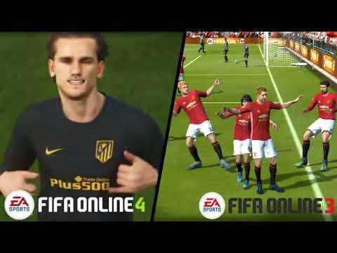 Fifa Online 3 VS Fifa Online 4 Stadiums & Graphics Comparison 😱