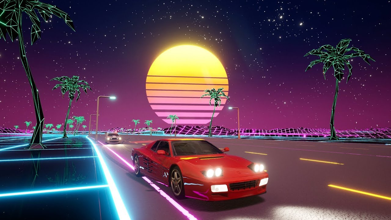 Cyber OutRun [Gameplay, PC]