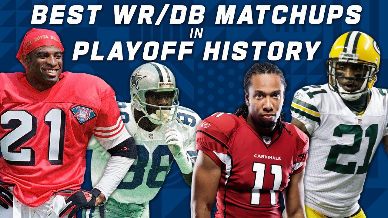 Best WR vs. DB Matchups in NFL Playoff History!