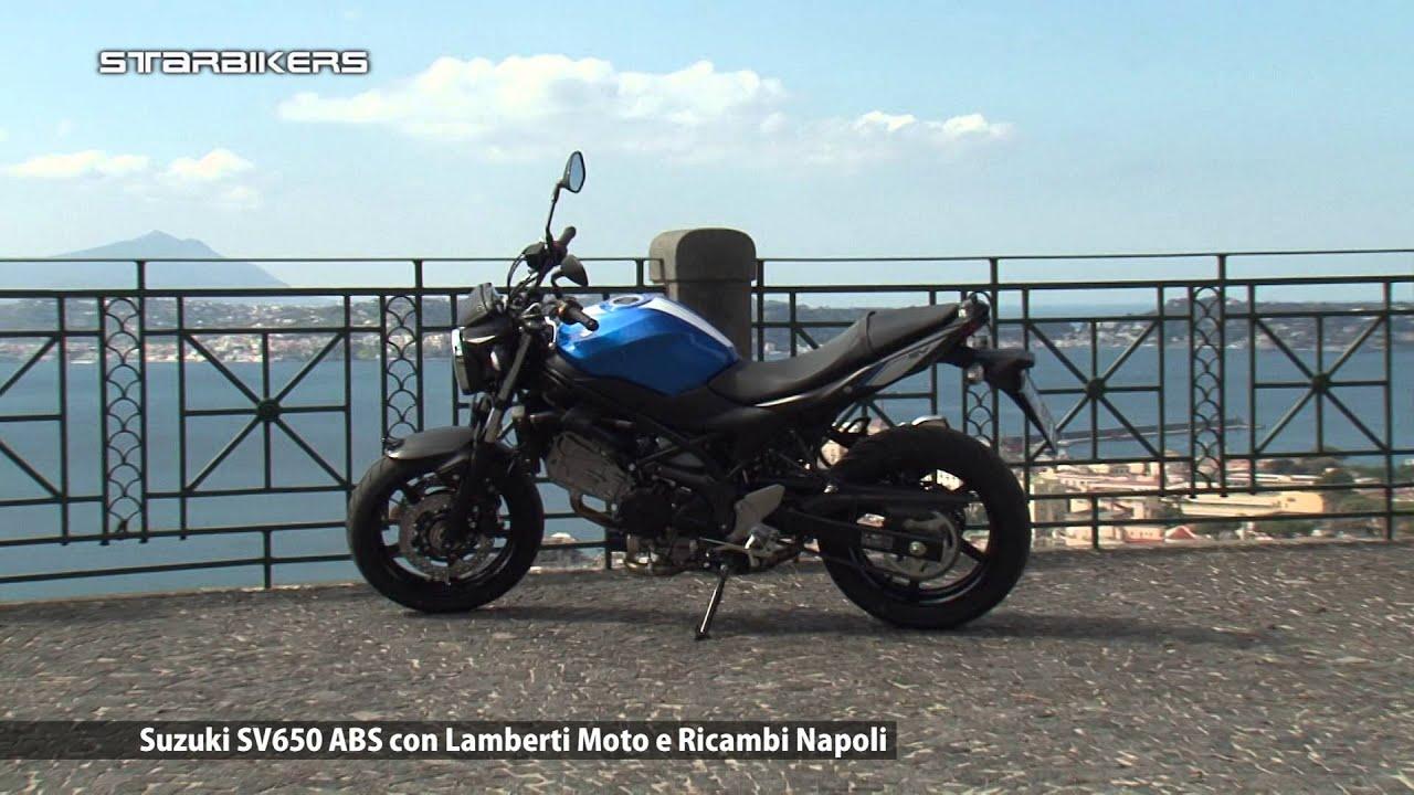 SUZUKI SV 650 ABS con LAMBERTI LA MOTO NAPOLI - YouTube