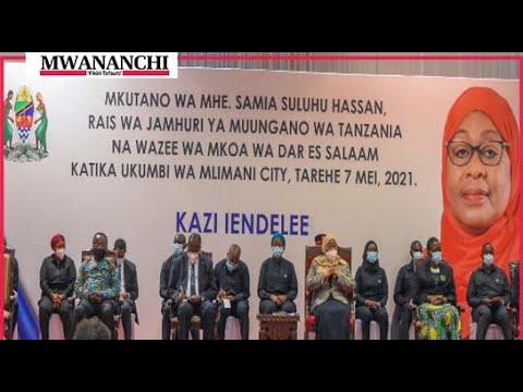 Rais Samia: katika kukuza uchumi Sintachagua rangi, kabila wala chama