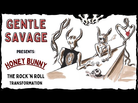 Gentle Savage - Honey Bunny: The Rock'n Roll Transformation (Analog Animation Music Video)