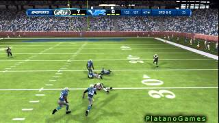 Madden NFL '13 - Great 3rd Down Completion In Traffic - Online Game - HD