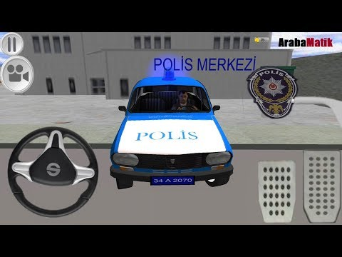 Toros Polis Arabası Oyunu // Polis oyunları Türkçe izle - Araba Oyunu 3D Polis FHD