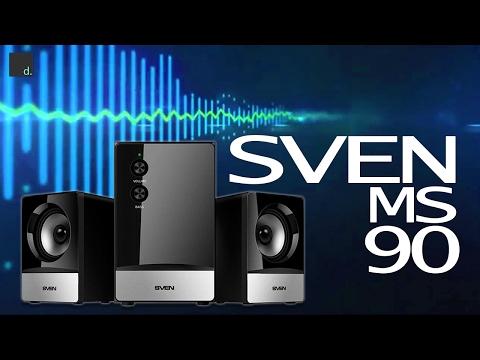 Акустическая система Sven MS-90 Black