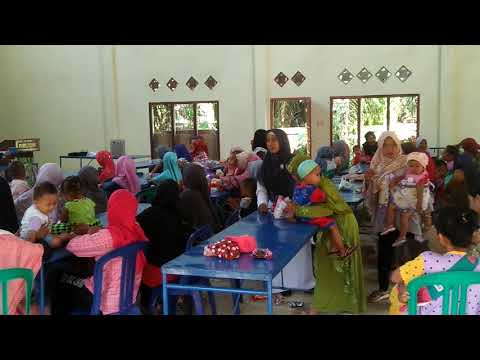 Kegiatan Sosialisasi bagi balita dan ibu hamil Desa Gading Jaya