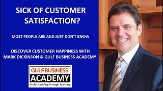 Sick of Customer Satisfaction